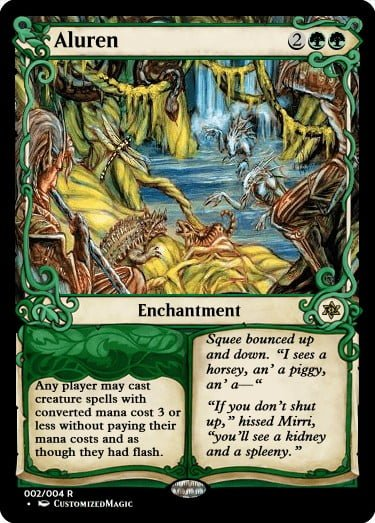 Aluren.1 - Magic the Gathering Proxy Cards