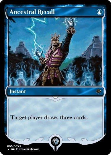 AncestralRecall.2 - Magic the Gathering Proxy Cards