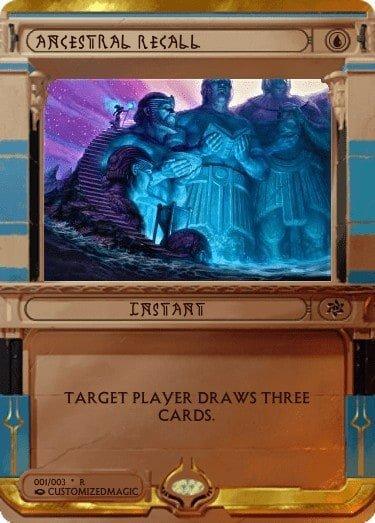 AncestralRecall - Magic the Gathering Proxy Cards