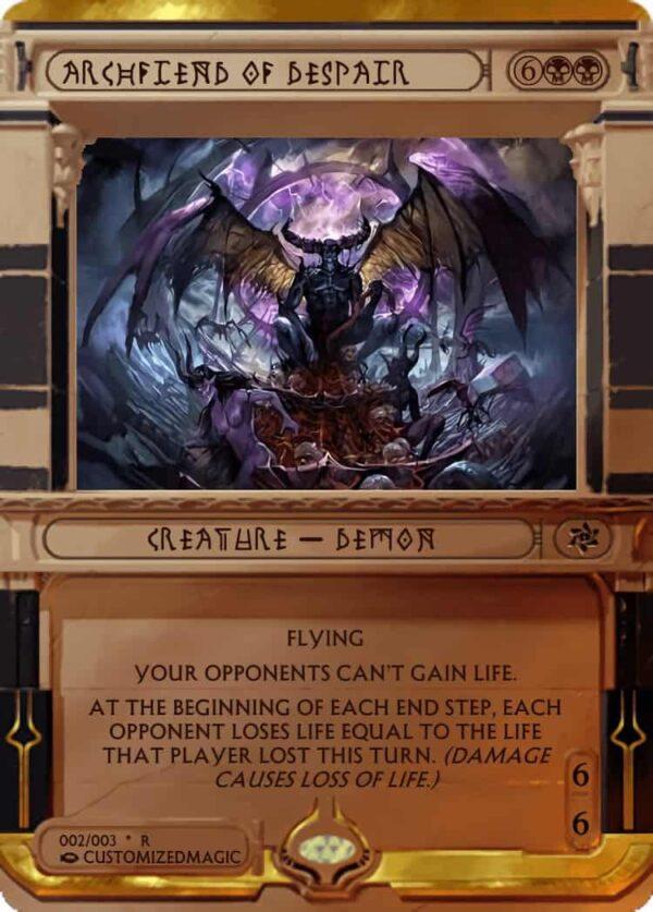 ArchfiendofDespair.2 - Magic the Gathering Proxy Cards