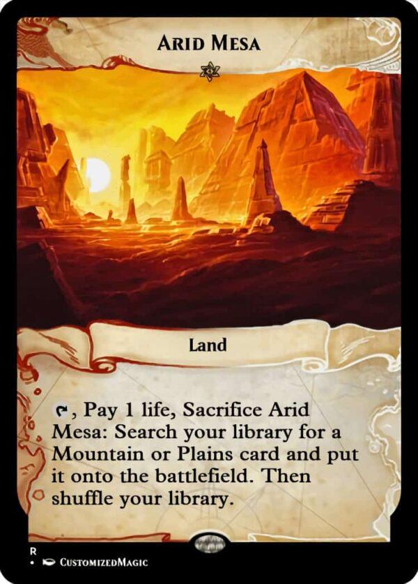 AridMesa - Magic the Gathering Proxy Cards