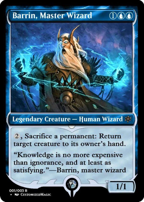 BarrinMasterWizard - Magic the Gathering Proxy Cards