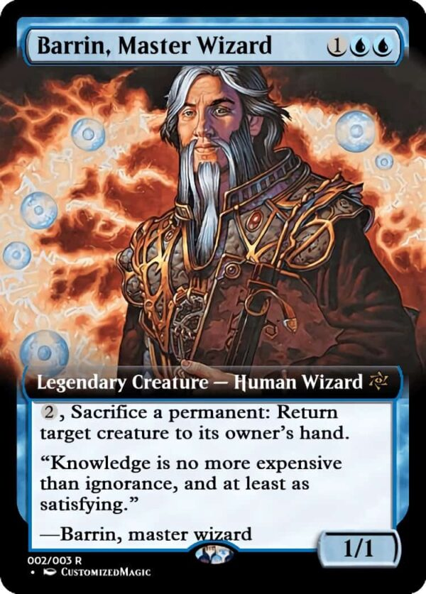 BarrinMasterWizard.1 - Magic the Gathering Proxy Cards