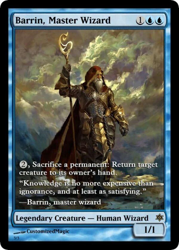 BarrinMasterWizard.4 - Magic the Gathering Proxy Cards