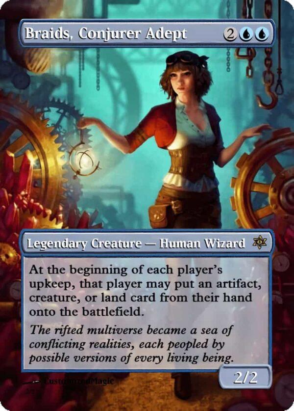 BraidsConjurerAdept - Magic the Gathering Proxy Cards