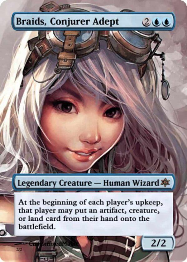 BraidsConjurerAdept.121 - Magic the Gathering Proxy Cards