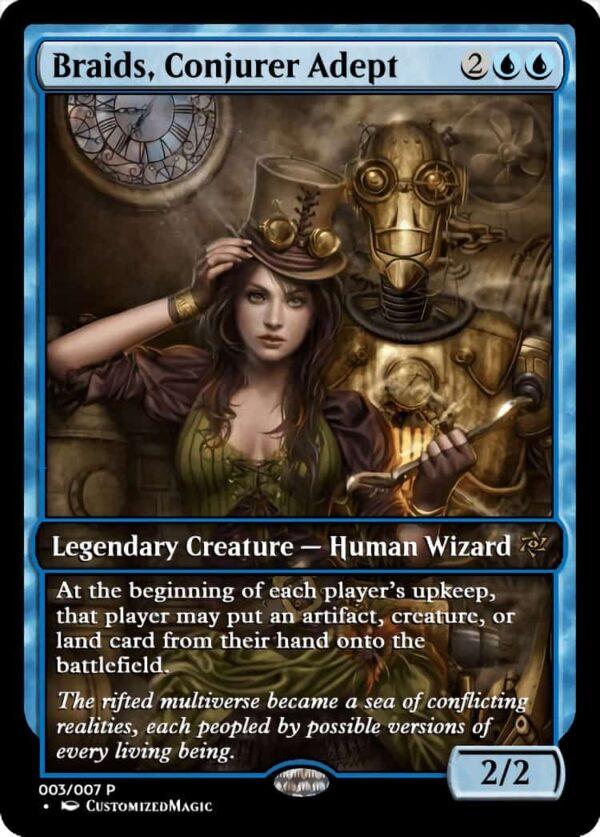 BraidsConjurerAdept.7 - Magic the Gathering Proxy Cards