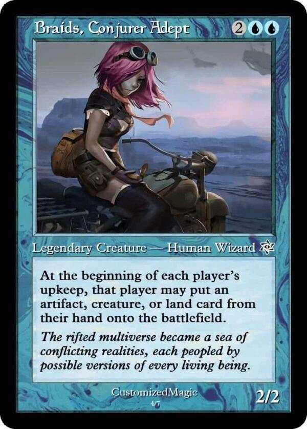 BraidsConjurerAdept.8 - Magic the Gathering Proxy Cards