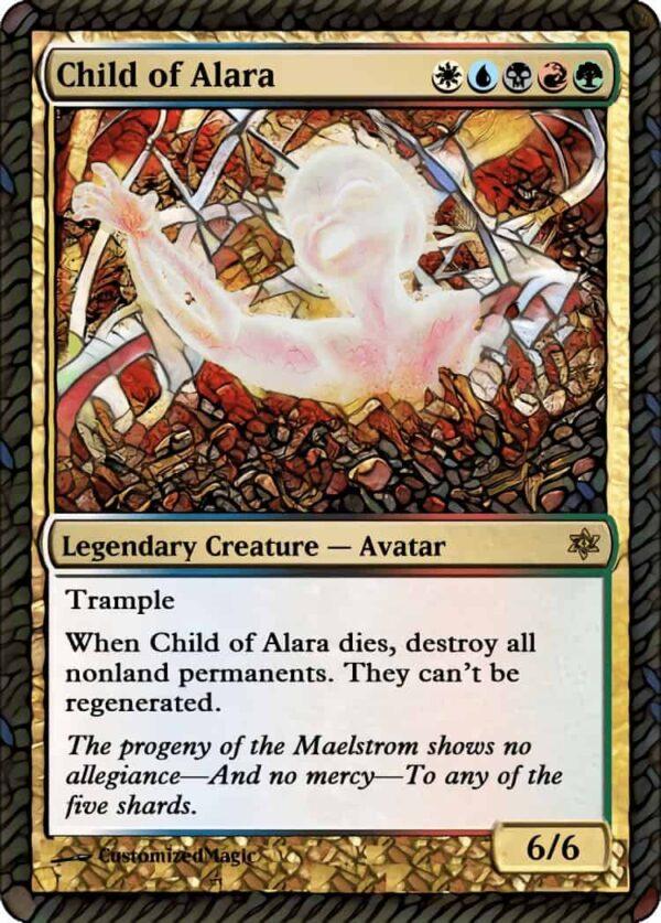 ChildofAlara.4 - Magic the Gathering Proxy Cards