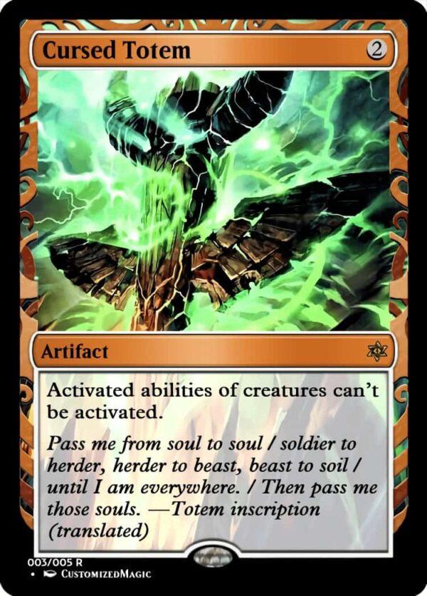 CursedTotem.3 - Magic the Gathering Proxy Cards