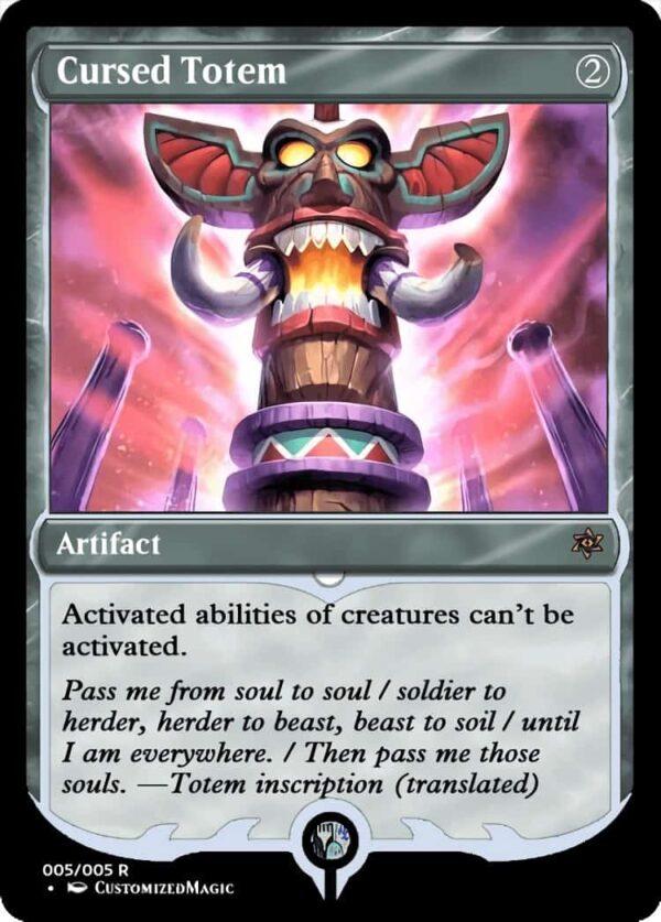 CursedTotem.5 - Magic the Gathering Proxy Cards