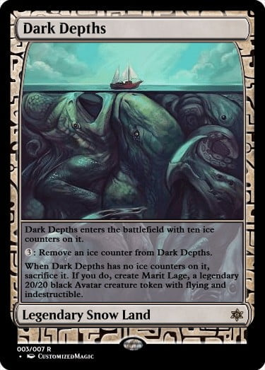 DarkDepths - Magic the Gathering Proxy Cards