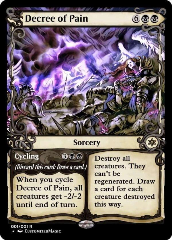 DecreeofPain - Magic the Gathering Proxy Cards