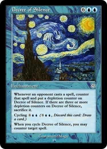 DecreeofSilence.2 - Magic the Gathering Proxy Cards
