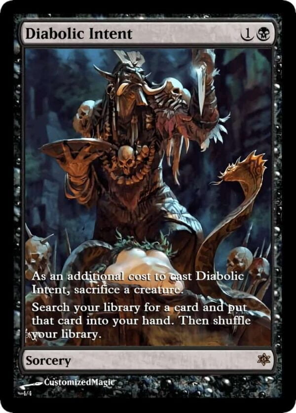 DiabolicIntent.4 - Magic the Gathering Proxy Cards
