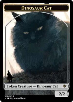 DinosaurCat.1 - Magic the Gathering Proxy Cards