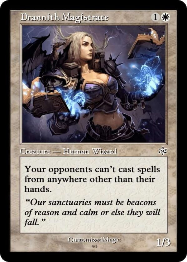 DrannithMagistrate.6 - Magic the Gathering Proxy Cards