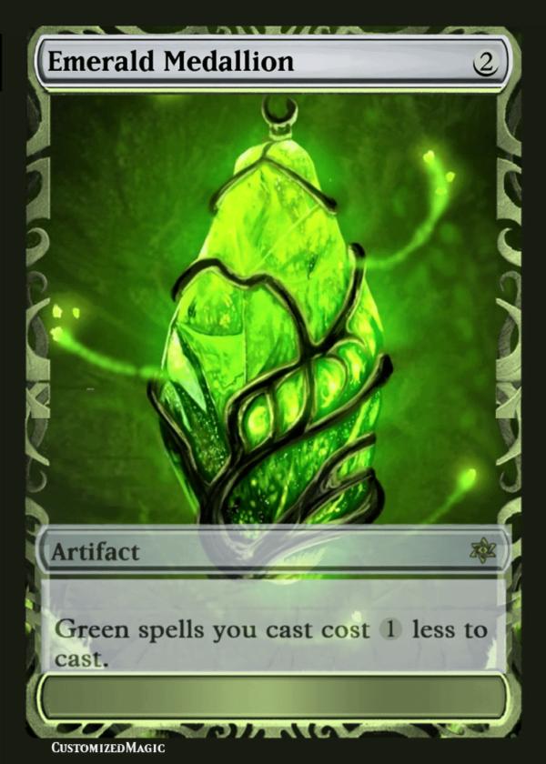 EmeraldMedallion.11 - Magic the Gathering Proxy Cards