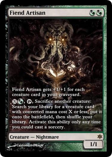 FiendArtisan.4 - Magic the Gathering Proxy Cards