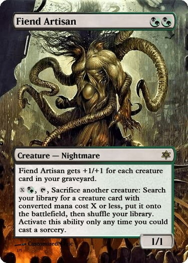 FiendArtisan10 - Magic the Gathering Proxy Cards