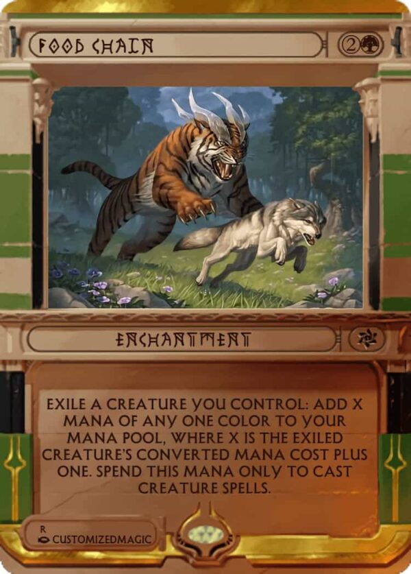 FoodChain.5 - Magic the Gathering Proxy Cards