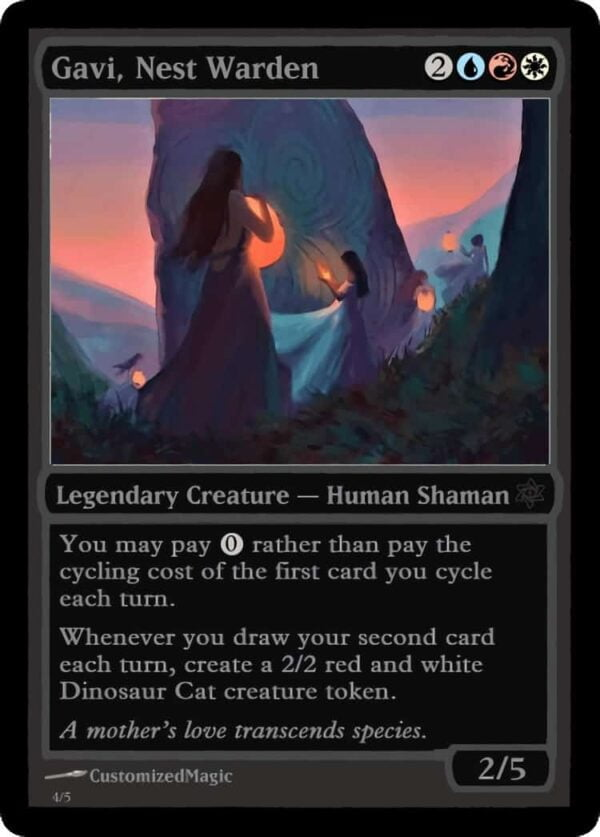 GaviNestWarden.4 - Magic the Gathering Proxy Cards