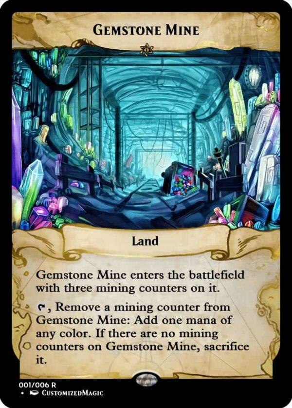 GemstoneMine.5 - Magic the Gathering Proxy Cards