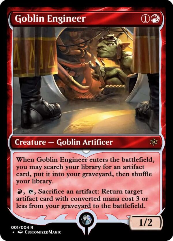 GoblinEngineer - Magic the Gathering Proxy Cards