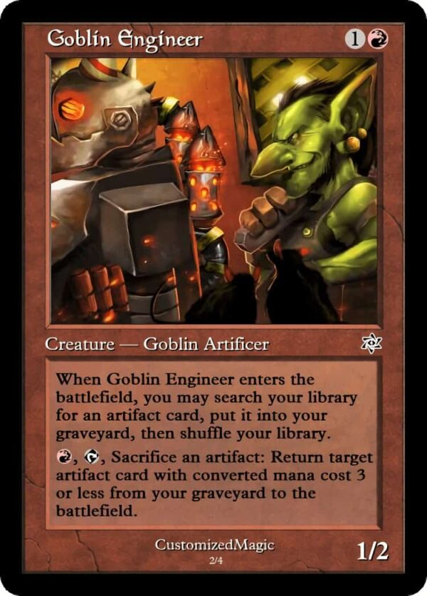 GoblinEngineer.2 - Magic the Gathering Proxy Cards