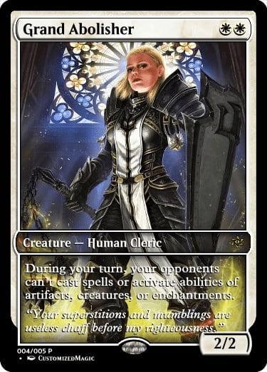 GrandAbolisher.4 - Magic the Gathering Proxy Cards