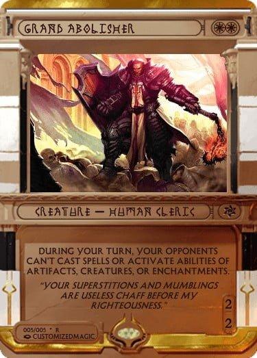 GrandAbolisher.5 - Magic the Gathering Proxy Cards