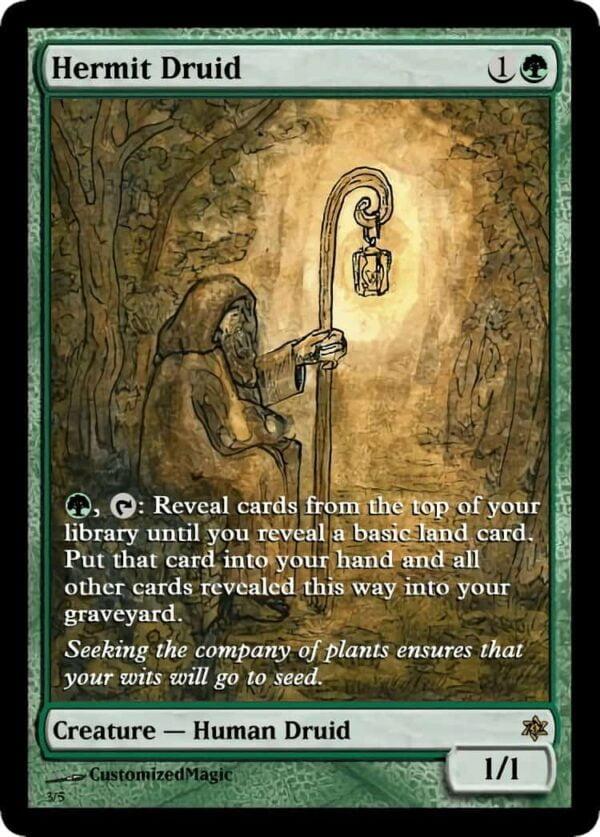 HermitDruid.3 1 - Magic the Gathering Proxy Cards