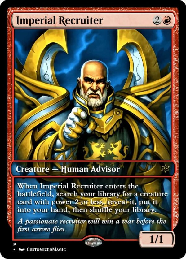 ImperialRecruiter - Magic the Gathering Proxy Cards