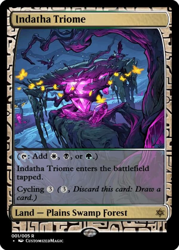 IndathaTriome - Magic the Gathering Proxy Cards