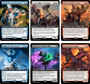 Jumpstart Mono Color Commanders