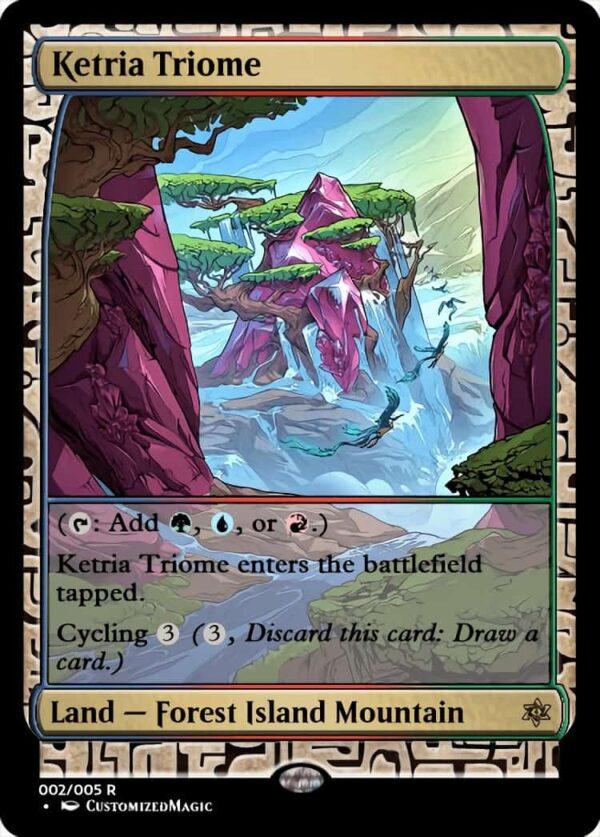 KetriaTriome - Magic the Gathering Proxy Cards