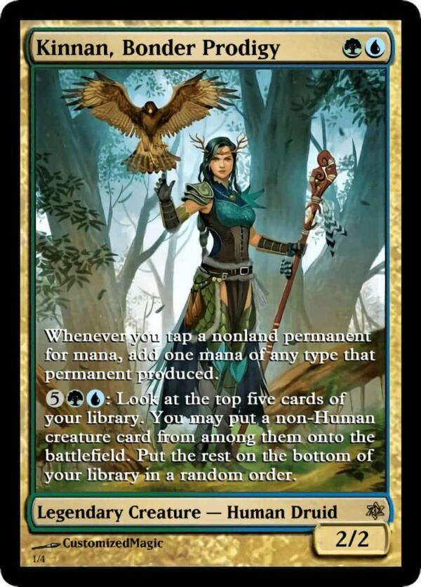 KinnanBonderProdigy - Magic the Gathering Proxy Cards
