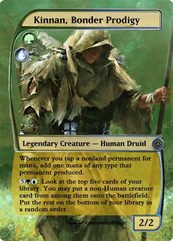 KinnanBonderProdigy.3 - Magic the Gathering Proxy Cards