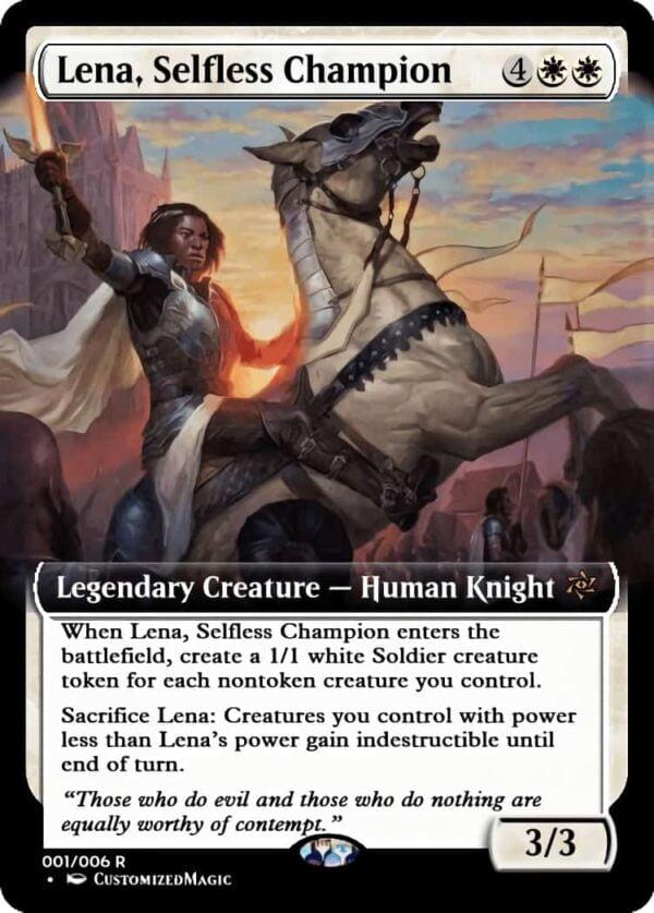 LenaSelflessChampion - Magic the Gathering Proxy Cards
