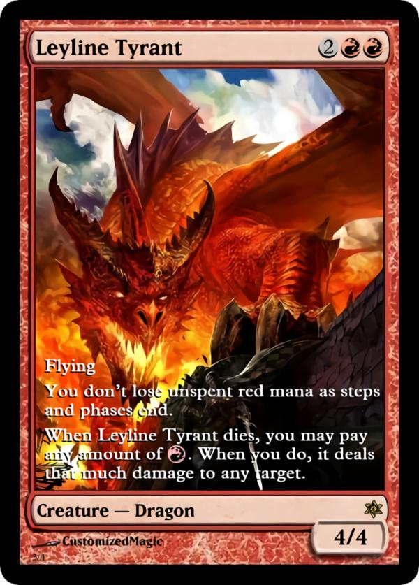 Leyline Tyrant.3 1 - Magic the Gathering Proxy Cards