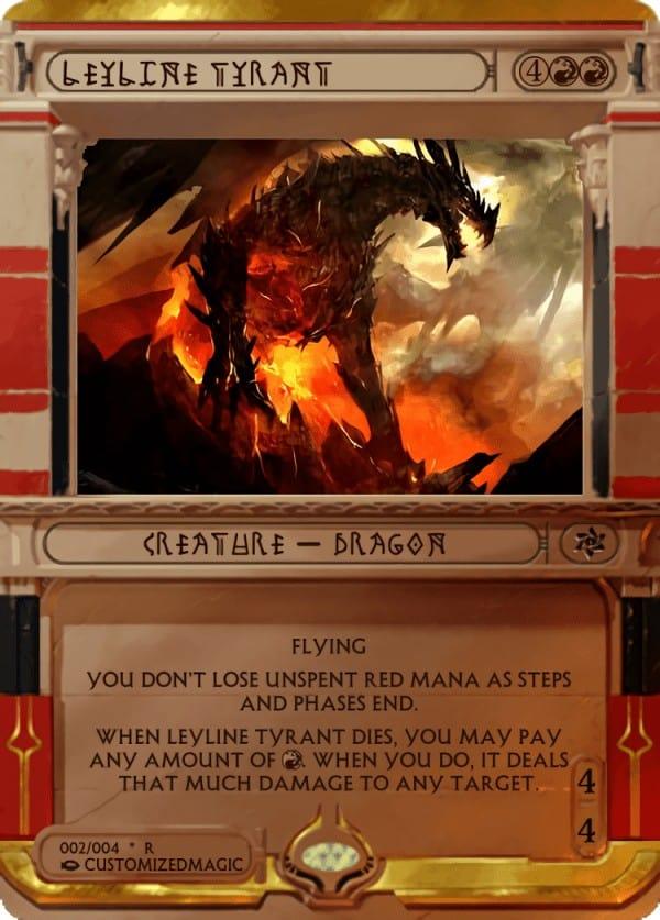 LeylineTyrant.2 - Magic the Gathering Proxy Cards
