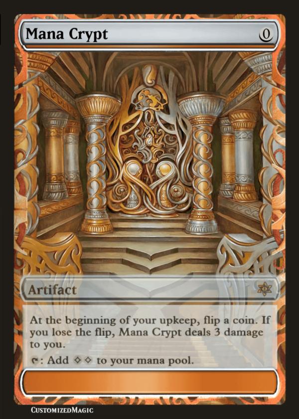 Mana Crypt - Magic the Gathering Proxy Cards