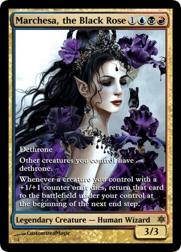 MarchesatheBlackRose.1 - Magic the Gathering Proxy Cards