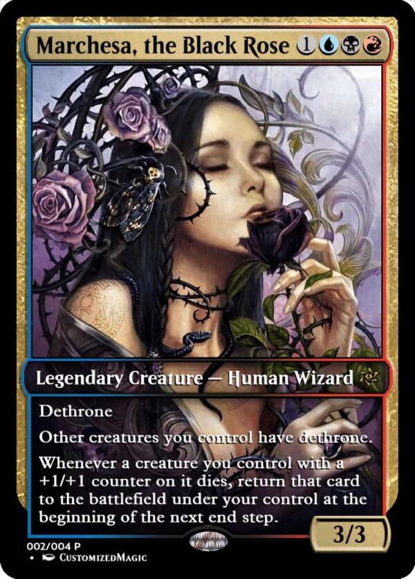 MarchesatheBlackRose.2 - Magic the Gathering Proxy Cards