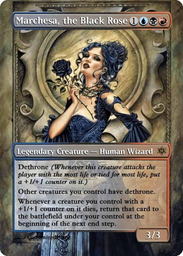 MarchesatheBlackRose.3 - Magic the Gathering Proxy Cards