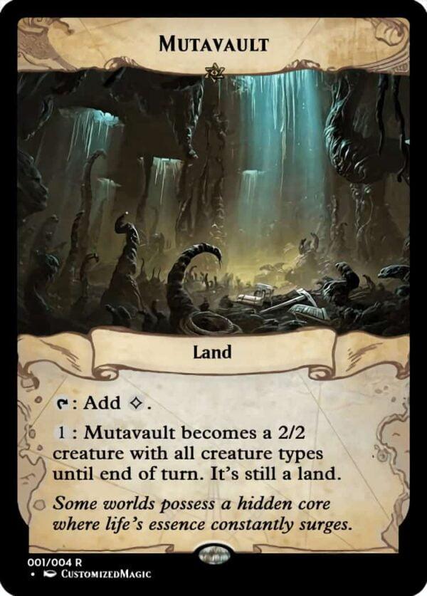 Mutavault.2 - Magic the Gathering Proxy Cards