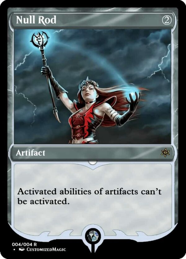 NullRod.5 - Magic the Gathering Proxy Cards