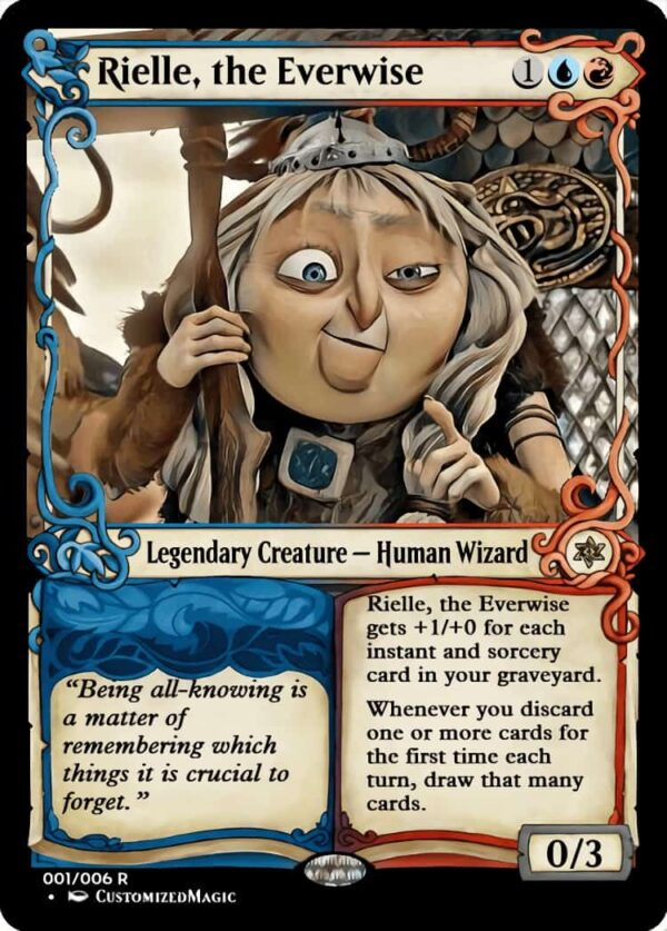 RielletheEverwise.1 - Magic the Gathering Proxy Cards