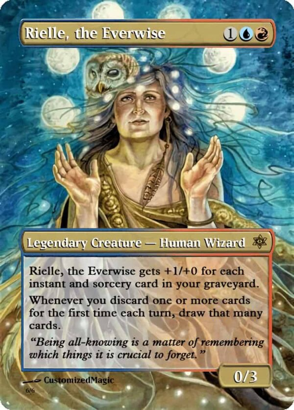 RielletheEverwise.2 - Magic the Gathering Proxy Cards