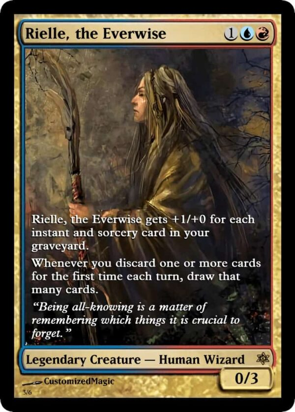 RielletheEverwise.4 - Magic the Gathering Proxy Cards